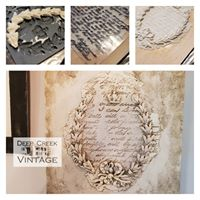 Friday August 2nd 630- 9pm Creating relief plaques with Iron Orchid Designs moulds and stamps