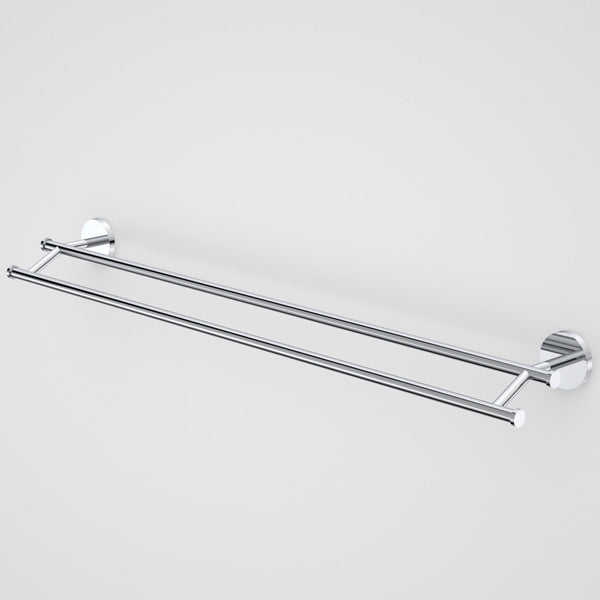 Caroma Liano Double Towel Rail-Chrome by Caroma - The Blue Space