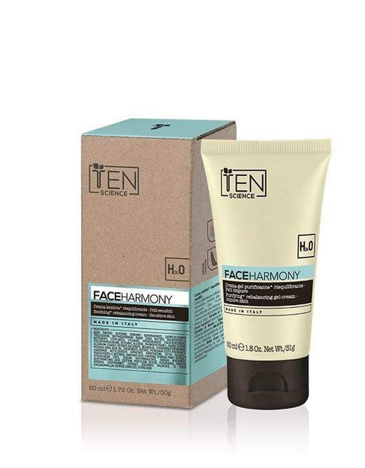 Ten Science CREMA VISO TEN FACE HARMONY CREMA GEL PURIFICANTE RIEQUILIBRANTE PER PELLI IMPURE