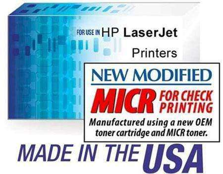 HP CE255X (55X) LASERJET P3015 PREMIUM MICR TONER CARTRIDGE BLACK - NEW OEM