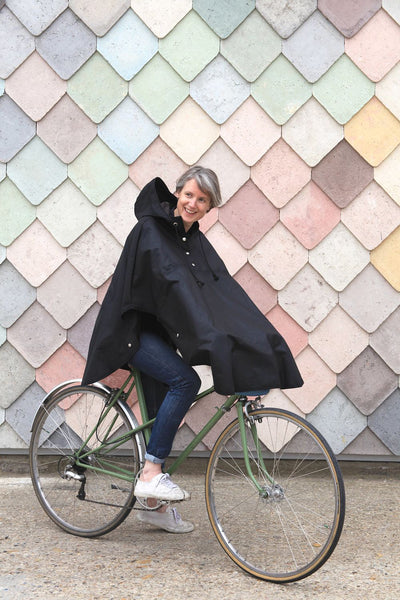 Emma cycling waterproof cape