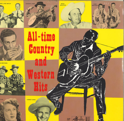 Various Artists All-Time County and Western Hits