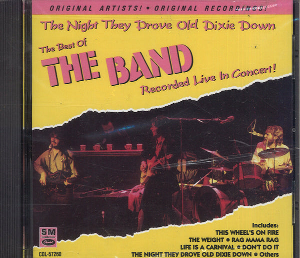 The Band The Night They Drove Old Dixie Down