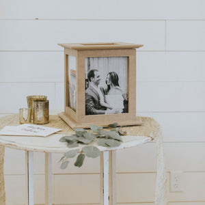 Unique Wedding Card Box by The Perfect Card Box
