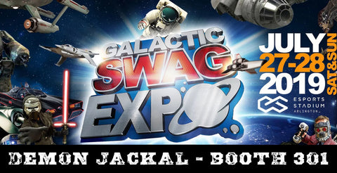 Galactic Swag Expo July 27-28, 2019
