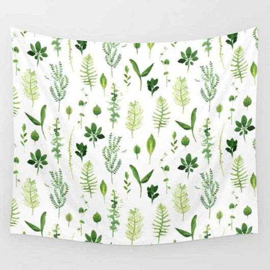 Plant Printed Tapestry - Tapestry Shopping - Tapestries, Hippies and Wall Hangings
