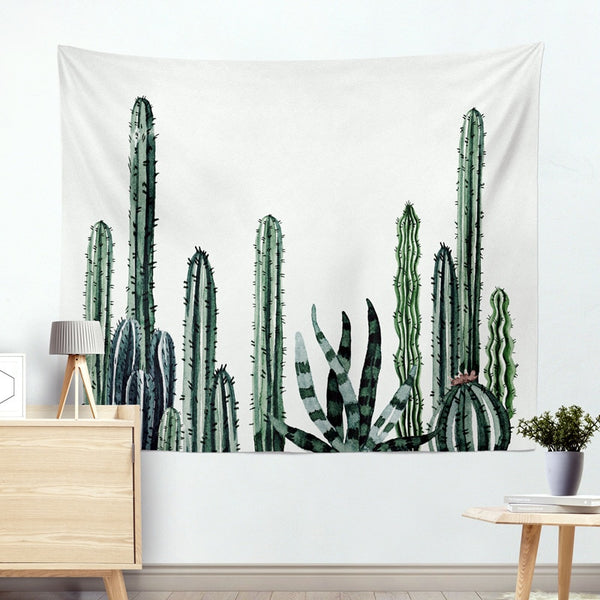 Wall Hanging Cactus Tapestry - Tapestry Shopping - Tapestries, Hippies and Wall Hangings