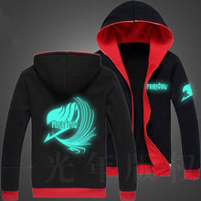 Load image into Gallery viewer, Fairy Tail Glow in the Dark Hoodie 5 styles to choose