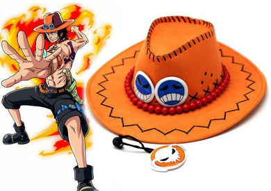 One Piece Ace Hat Cosplay
