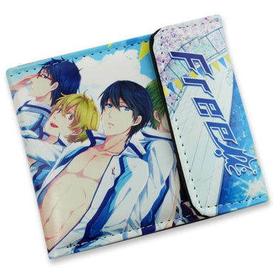 Iwatobi Swim Club Short Style Anime Wallet