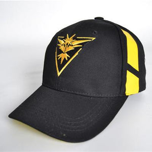 Pokemon Go Team Valor Mystic Instinct Snapback Hat