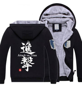 Attack On Titan Super Soft Hoodie Shingeki No Kyojin Jacket