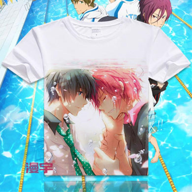 Iwatobi Swim Club Japanese Anime T-Shirts (20 Styles)