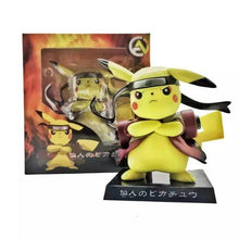 Load image into Gallery viewer, Pikachu Uzumaki Naruto Pokemon Action Figure Toy