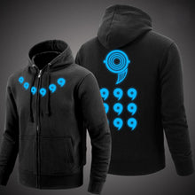 Load image into Gallery viewer, Naruto Akatsuki Glow In The Dark Hoodie Sweatshirt