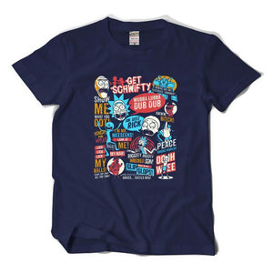 Rick And Morty Pop Style Funny T-Shirt