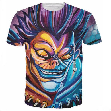 Death Note Shinigami 3D Hipster Style Ryuk T-Shirt