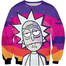 Load image into Gallery viewer, Rick And Morty Funny 3D Hipster Sweatshirt Hoodie