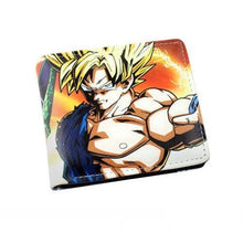 Load image into Gallery viewer, Dragonball Z Super Saiyan Goku Wallet