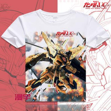 Gundam Short Sleeve Anime T-Shirt V12
