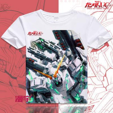 Gundam Short Sleeve Anime T-Shirt V15