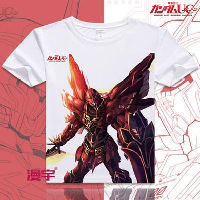 Gundam Short Sleeve Anime T-Shirt V17