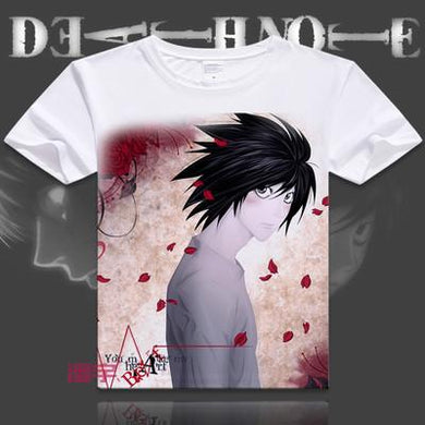 Death Note Short Sleeve Anime T-Shirt V5