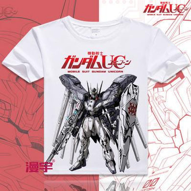 Gundam Short Sleeve Anime T-Shirt V9
