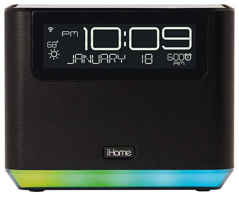 G2502 - iHome Bedside Clock with Alexa
