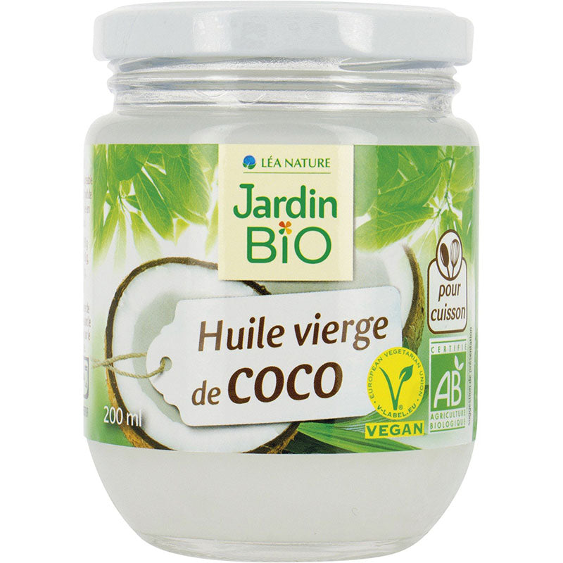 Organic Virgin Coconut Oil (200ml)