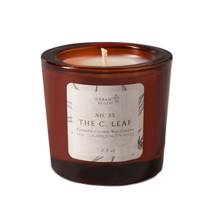 #35 The C. Leaf Coconut Wax Candle