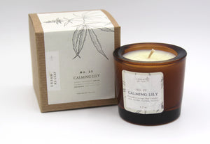 #25 Calming Lily Coconut Wax Candle