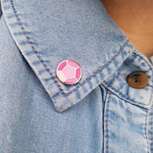 Load image into Gallery viewer, PRE-ORDER Mini Steven & Rose Quartz Gem Pin