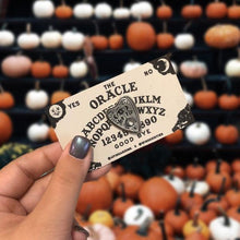 Load image into Gallery viewer, The Oracle - Ouija Planchette Pin