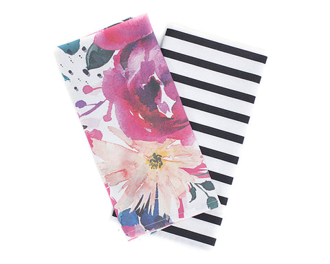 Blossom & Bar Tea Towel Set
