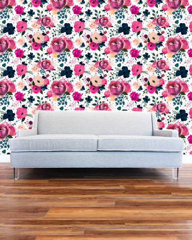 The Floral Garden Wallpaper