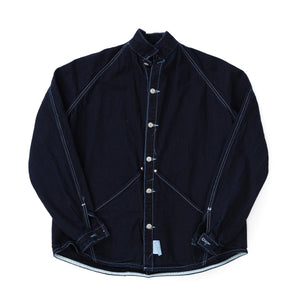 Type 431 Raglan Wallaby Jacket (Indigo / Indigo Cotton Taunton)