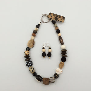 Necklace & Earring Set by Dorian