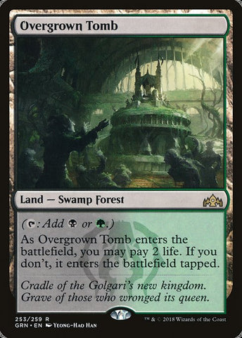 Overgrown Tomb [Guilds of Ravnica]