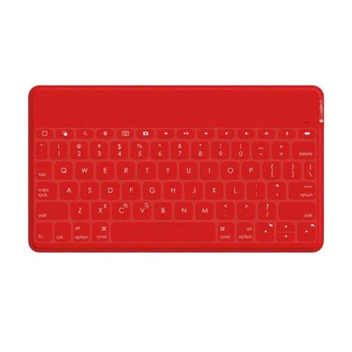 Logitech Key To Go Bluetooth keyboard Layout Italian red color