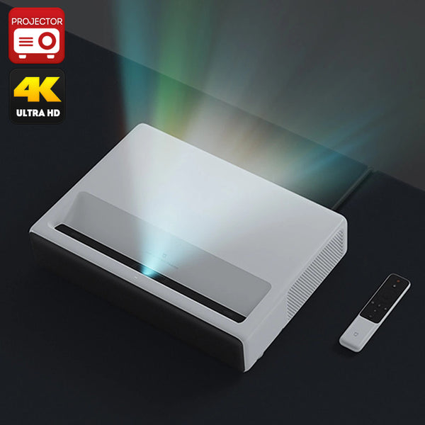 Xiaomi Mi Laser Projector English Version- 1080p Native Resolution, 4K Support, ALPD 3.0 Laser Light Source, 5000 lumen