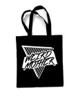 Black Weird Mom Club Canvas Tote Bag (Lightweight)