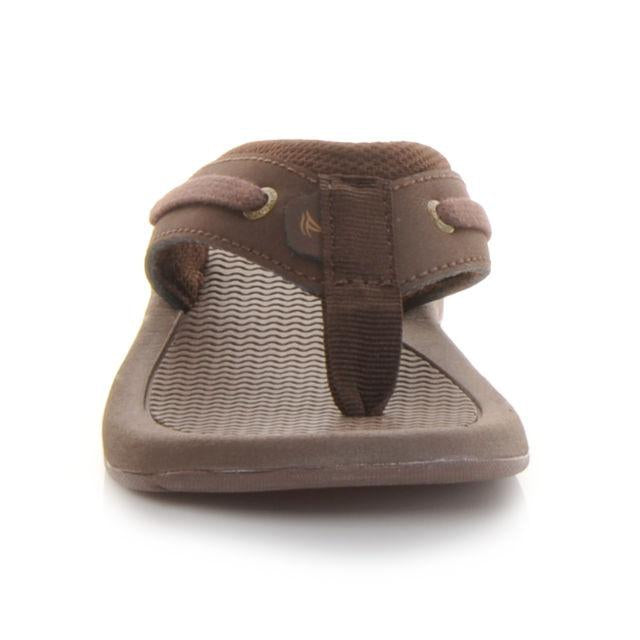 Sperry Intrepid Thong Boys Brown  Sperry  kick-it-shoe-outlet.myshopify.com Kick-it Shoe Outlet Shoes Cheap