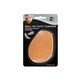 Sof Sole Foam Ball of Foot Cushioned Shoe Insert, 2 Pack