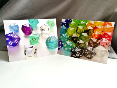 Mix & Match Any 3 Dice Greetings Cards