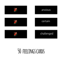Load image into Gallery viewer, 100 Conscious Feelings, Part I, Deck