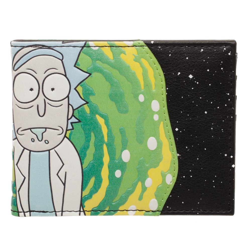 Rick and Morty Wallet Accessories BiFold Wallet