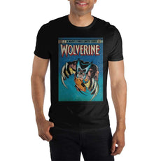 Marvel Comics Retro Limited Series Wolverine Claws Out Men's Black T-Shirt Tee Shirt