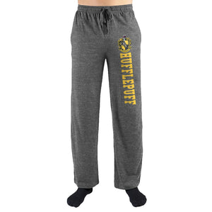 Harry Potter Hogwarts Hufflepuff House Print Loungewear Lounge Pants