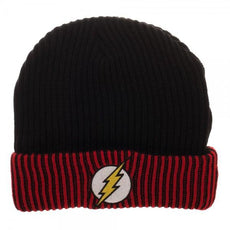 The Flash Logo Reversible Beanie